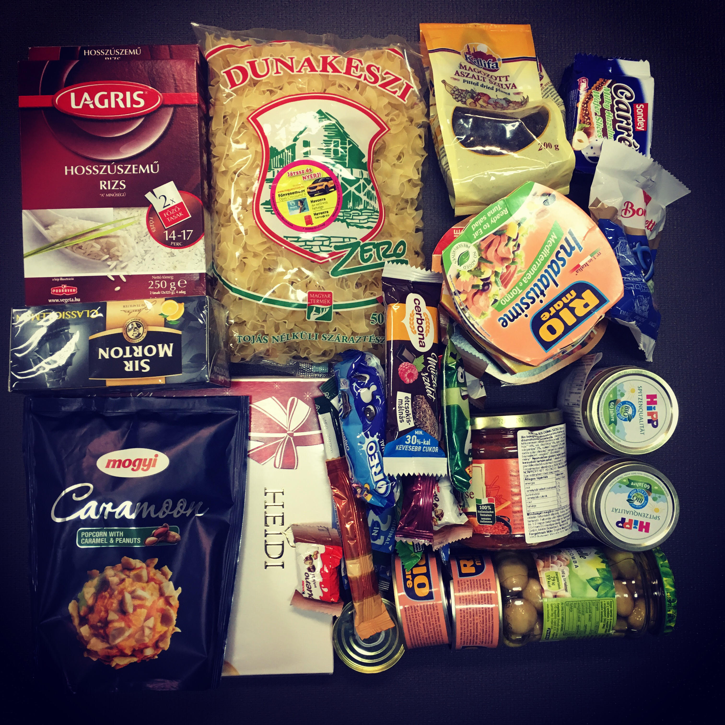 Adománygyűjtés 2018 – Enni adok ételdoboz