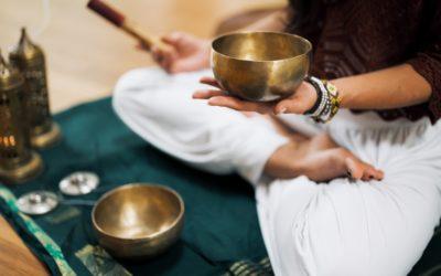 Mélylazítás és hangfürdő tibeti hangtálakkal